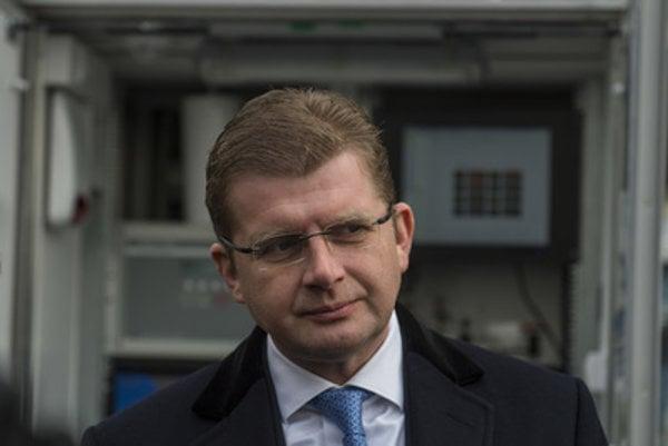 Economy Minister Peter Žiga