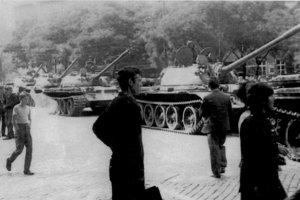 Tanks in Bratislava