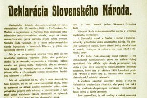 "The ""Martin Declaration"" published in a newspaper"