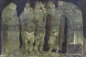 Koloman Sokol: Men from Tacuba