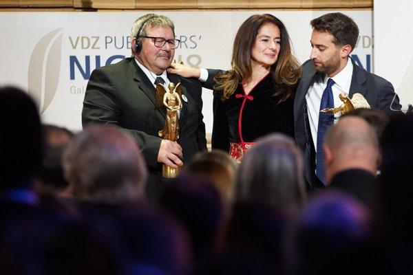 l-r: Jozef Kuciak, Matthew Caruana Galizia and Corinne Vella
