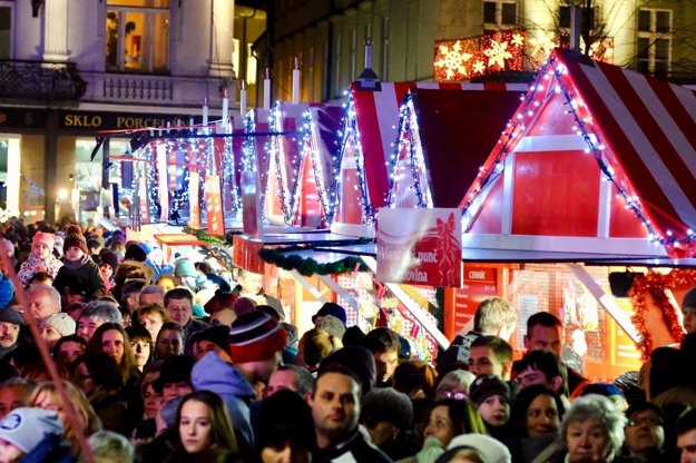 The Christmas market at Main Square