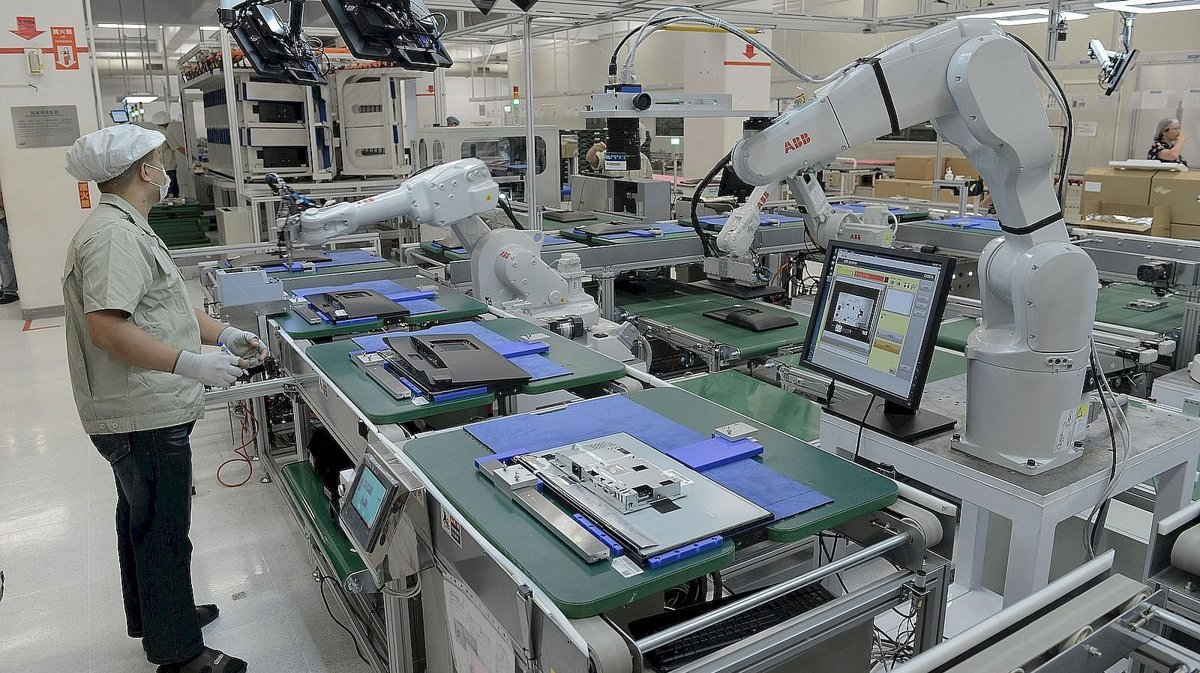 202cececc131 Slovak industry doubles the number of robots installed - spectator ...