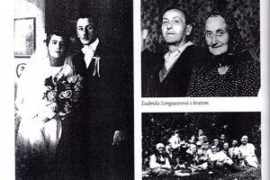 Karolína Bullová and her husband František