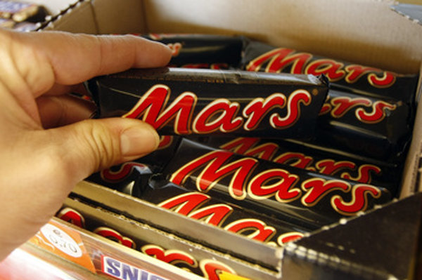 Mars bars, illustartive stock photo