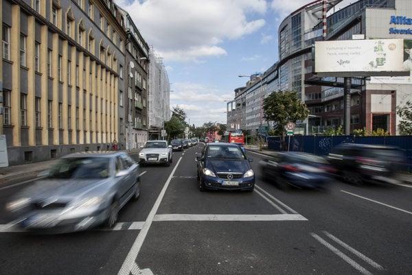Traffic in Bratislava