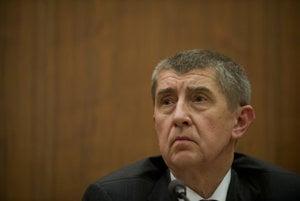 Slovak-born Czech Finance Minister Andrej Babiš