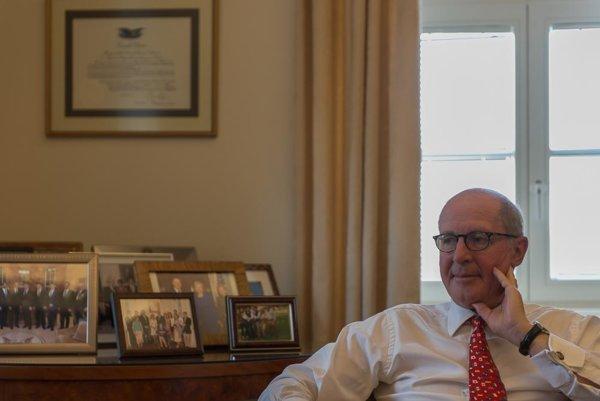 US Ambassador Theodore Sedgwick