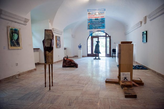 Brooklyn2Bratislava, exhibition in the Statua Gallery within the Statue and Object 2015.