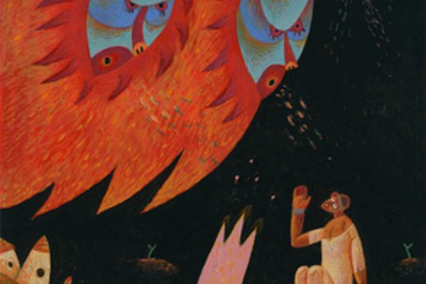 Miloš Kopták: African Fairy-tales, exhibition