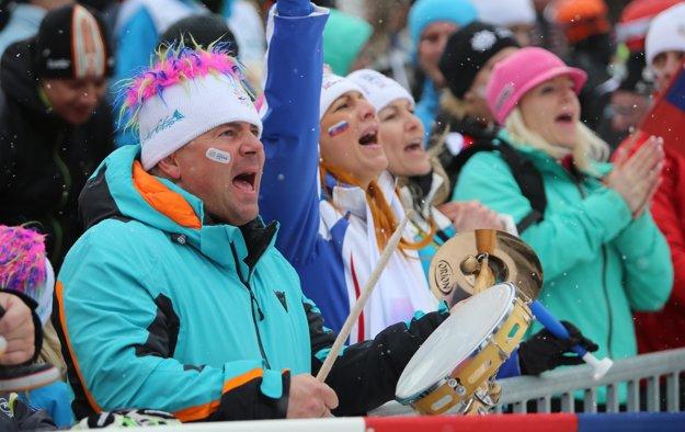 Slovak spectators created excellent atmosphere in Jasná.