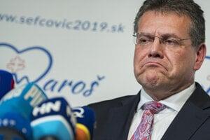 Maroš Šefčovič lost the presidential race.