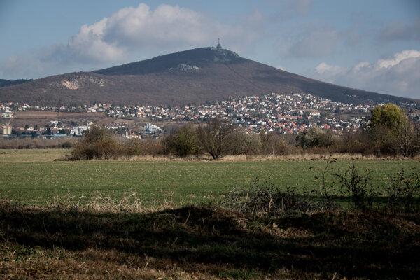 Zobor above Nitra