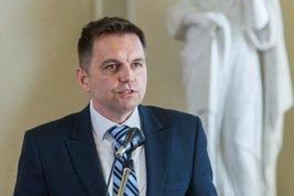 Slovak Finance Minister Peter Kažimír