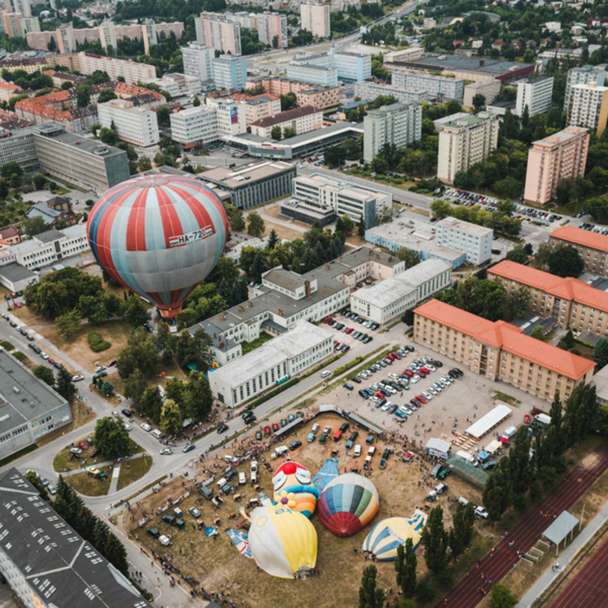 0faddc57f Hot air balloons will cover the Košice sky during the Balloon Fiesta on  June 5-
