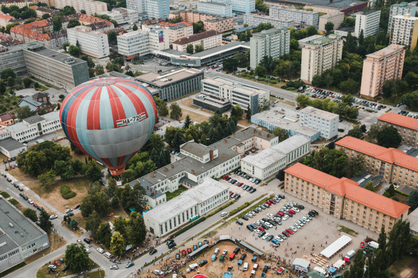 Hot air balloons will cover the Košice sky during the Balloon Fiesta on June 5-8.
