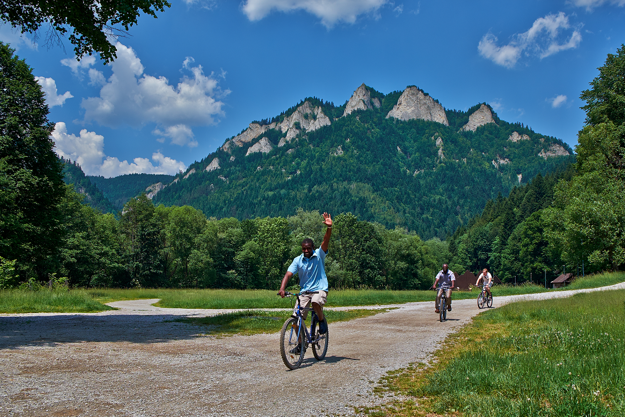 Cycling in Pieniny
