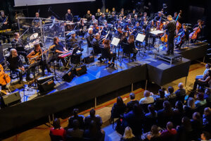 The Plastic People of the Universe and Brno Philharmonic concert in Brno in 2018