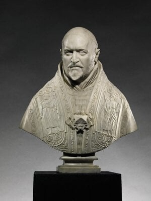 Bust of Pope Paul V by Gian Lorenzo Bernini, sold in an auction and exported from Slovakia.