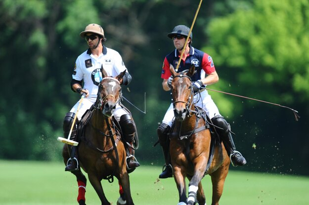 Polo is also played in Slovakia.