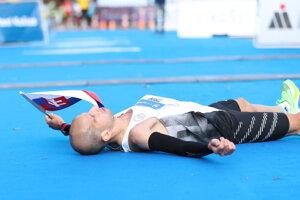 Tibor Sahajda, the best Slovak runner.