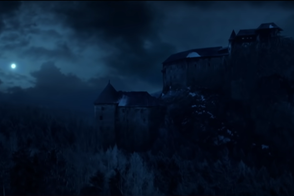 Orava castle is featured in the trailer