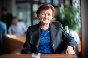 Mária Sisáková received the White Crow (Biela vrana) award on November 17, 2019