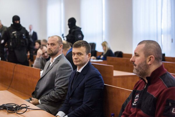 Penta financial group partner Jaroslav Haščák was called forward to the court because of a message Kočner had sent to him prior to the Kuciak murder
