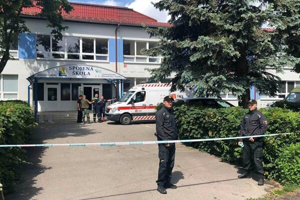 The school in Vrútky