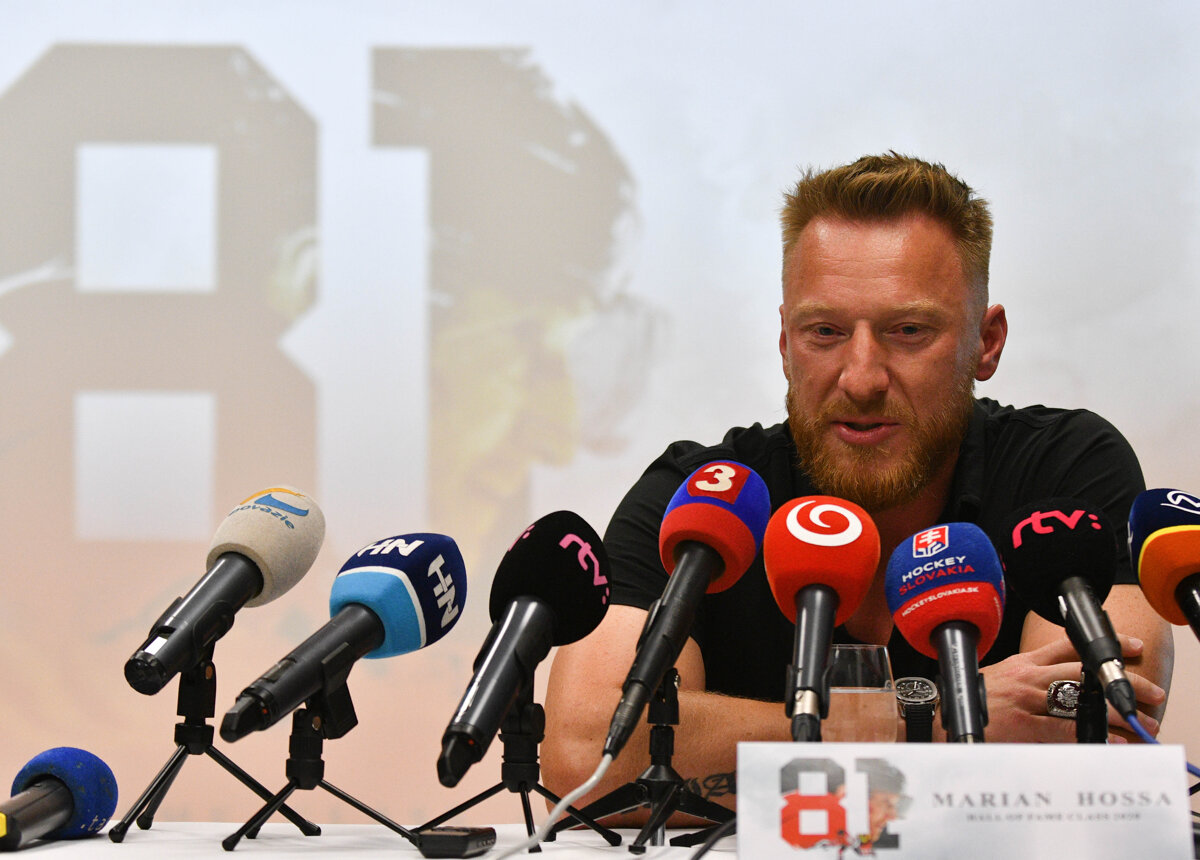 Marian Hossa to Be Inducted into Hockey Hall of Fame