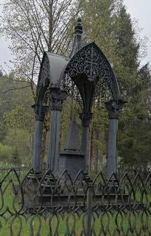 The 1841 monument of cast iron in Pohorelská Maša
