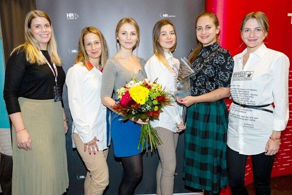 HR Inspiration winners from Poštová Banka.