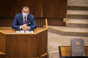 Speaker of Parliament Boris Kollár (Sme Rodina) faces no-confidence vote in the Slovak parliament July 7, 2020