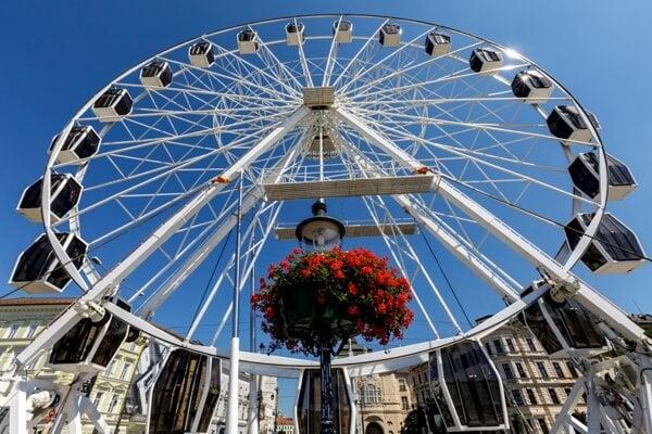 The observation wheel Bratislava Zhora