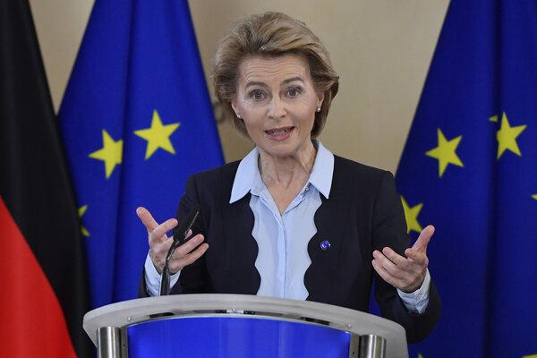 President of the European Commission Ursula von der Leyen.