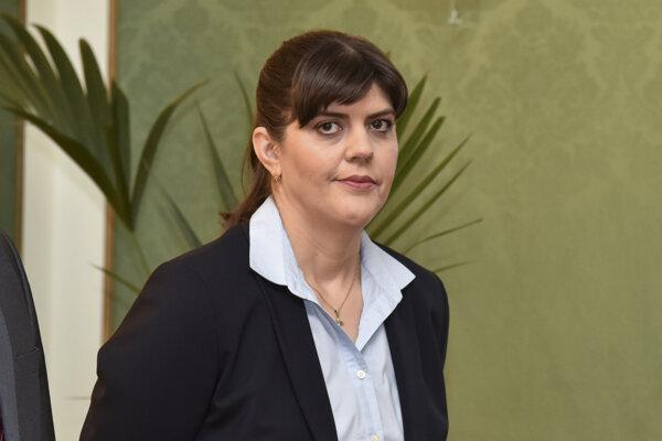 EU's chief public prosecutor Laura Codruţu Kövesi.