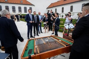 A commemorative event to pay tribute to the Roma Holocaust victims was held at Bratislava Castle.