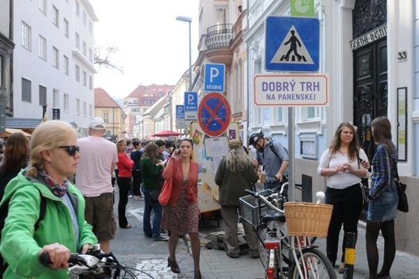 Dobrý trh / Good Market, Panenská Street