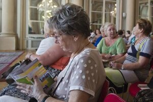 Summer university for seniors is one way of spending old age actively; 2015, Bratislava opening
