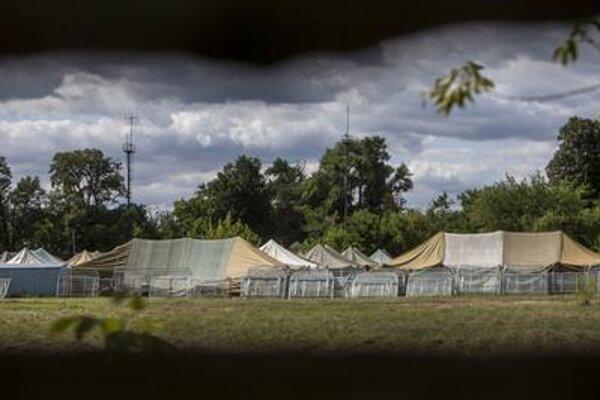 Tents in Malacky