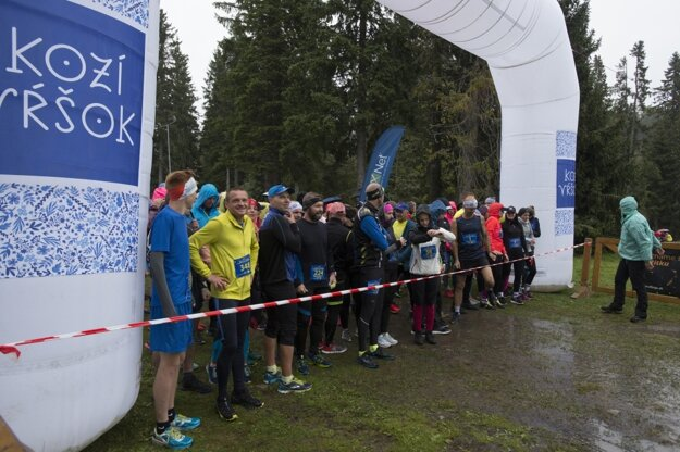 The bad weather did not discourage runners from taking part in the Run for the Tatras event in September 2019.