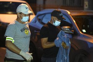 Róbert Krajmer detained at his house in Nitra on September 10.