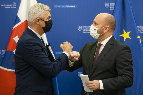 Ivan Korčok and Jaroslav Naď presented Security and Defence Strategy.