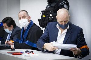 Left to right: Marian Kočner, Marek Para and Pavol Rusko