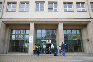 A school in Bratislava.