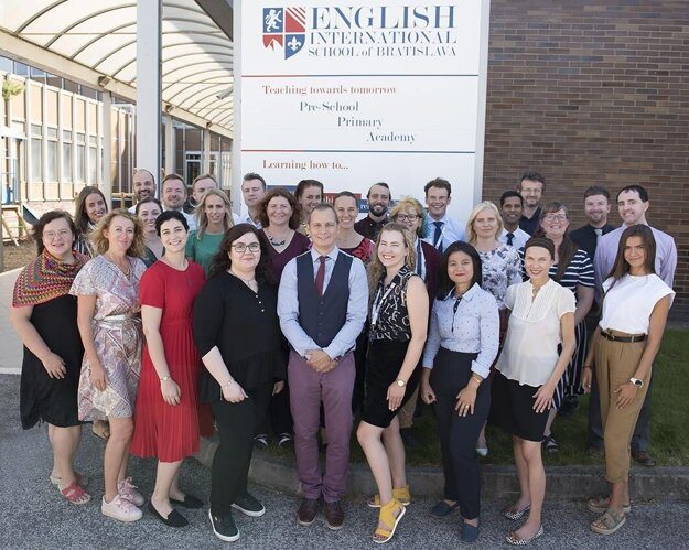The EISB team of professional teachers from around the world