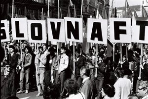 Before 1989, attending the May Day rally was mandatory.