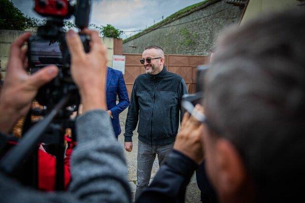 Vladimír Pčolinský is leaving custody.