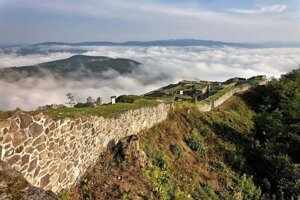Pustý Hrad was once one of the most important settlements of Hungarian kings and in the Zvolen County.