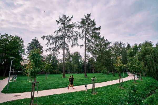 Žilina is home to the 2020 most beautiful park in Slovakia.
